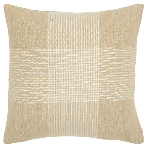 Brynn 20x20 Pillow, Beige