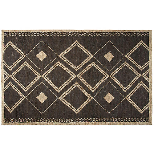 Kamala Jute Rug, Brown