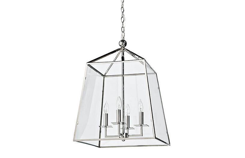 Coastal Living Metal & Glass Lantern, Metal