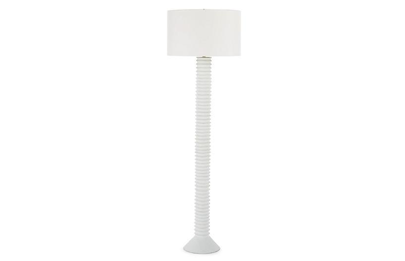 Nabu Floor Lamp, White