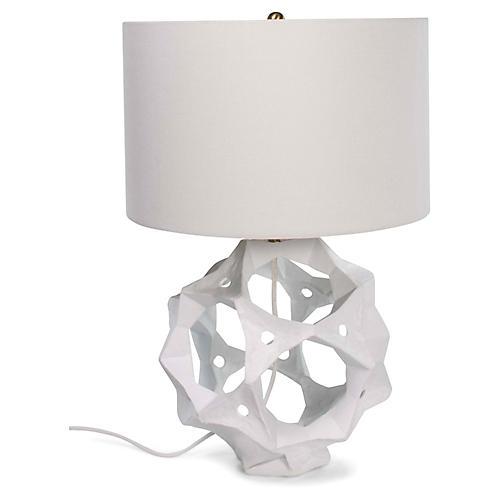 Celestial Table Lamp, White