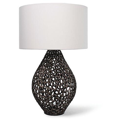 Jett Table Lamp, Bronze