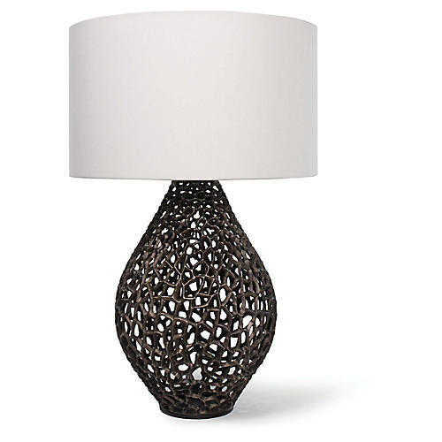 Jett Table Lamp, Bronze