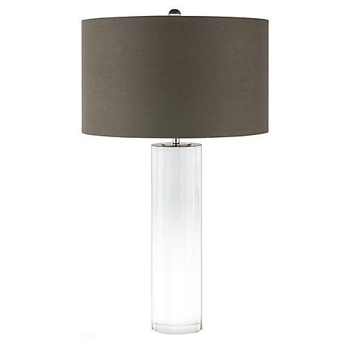 Romeo Table Lamp, Clear