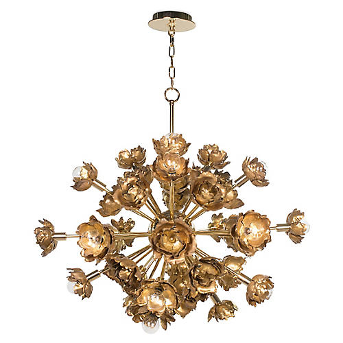 Adeline Chandelier, Gold