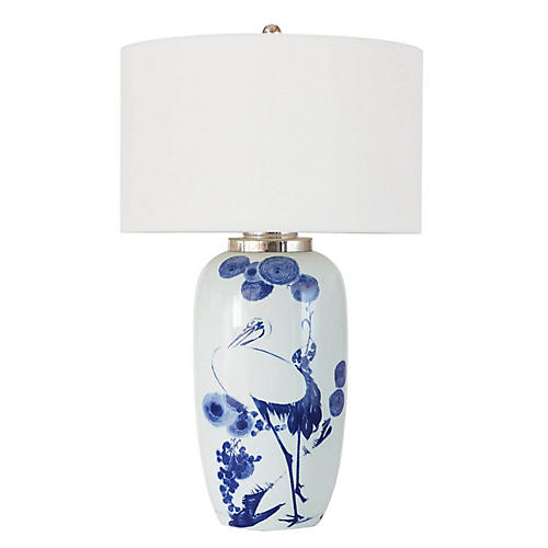 Kyoto Table Lamp, White