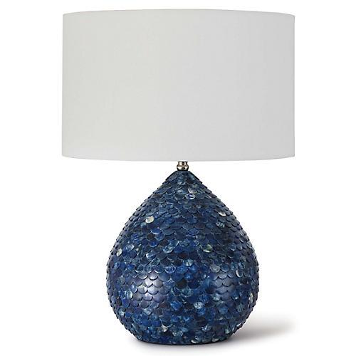 Sirene Table Lamp, Blue
