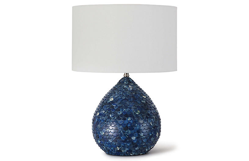 Sirene Table Lamp, Blue