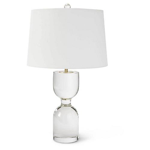 Joan Table Lamp, Clear