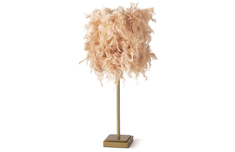 Jasmine Table Lamp, Pink