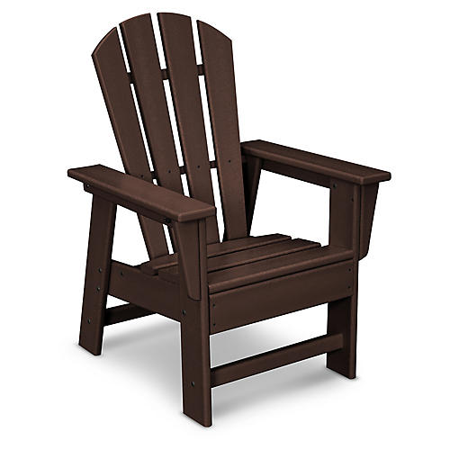 Kids' Adirondack Chair, Brown