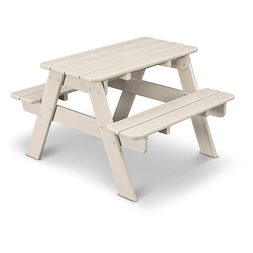 Kids' Picnic Table, Sand