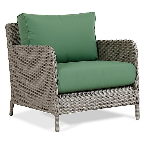 Manhattan Club Chair, Green