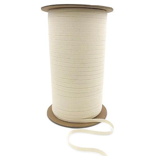 Lightweight Twill Ribbon, Natural