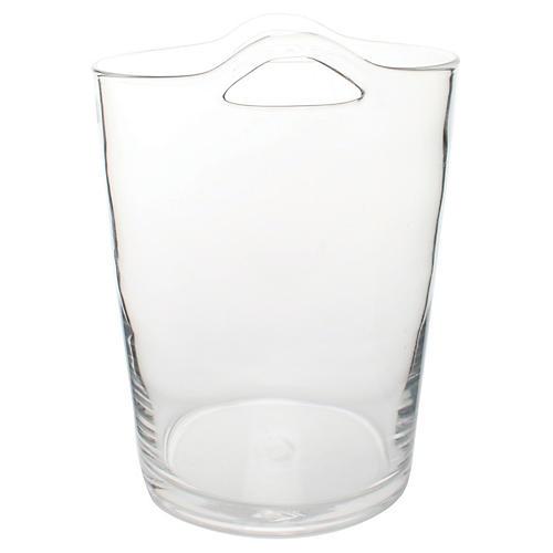Glass Ice Bucket, Clear
