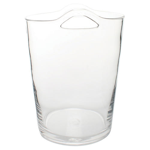 Glass Ice Bucket, Clear