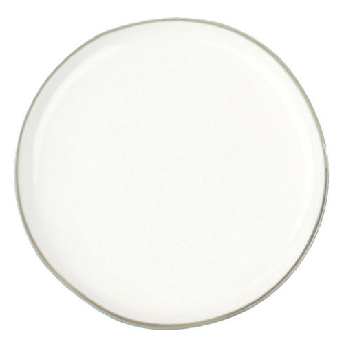 S/4 Abbesses Bread Plates, White/Gray