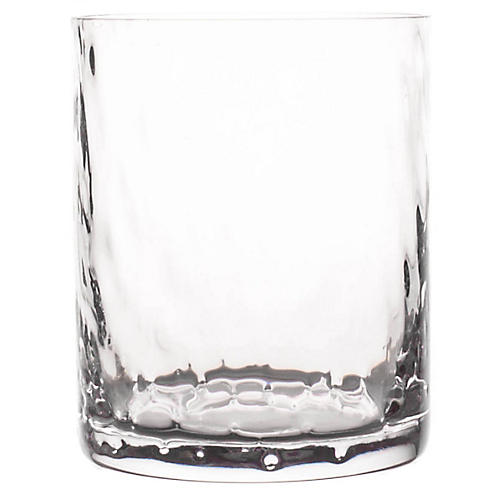 S/4 Portofino Lowball Glasses, Clear