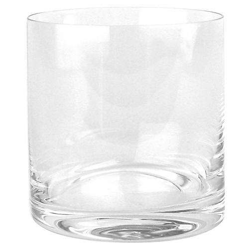 S/4 Fife Whiskey Tumblers, Clear