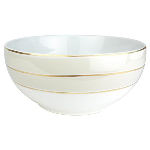 La Vienne Serving Bowl, Gray
