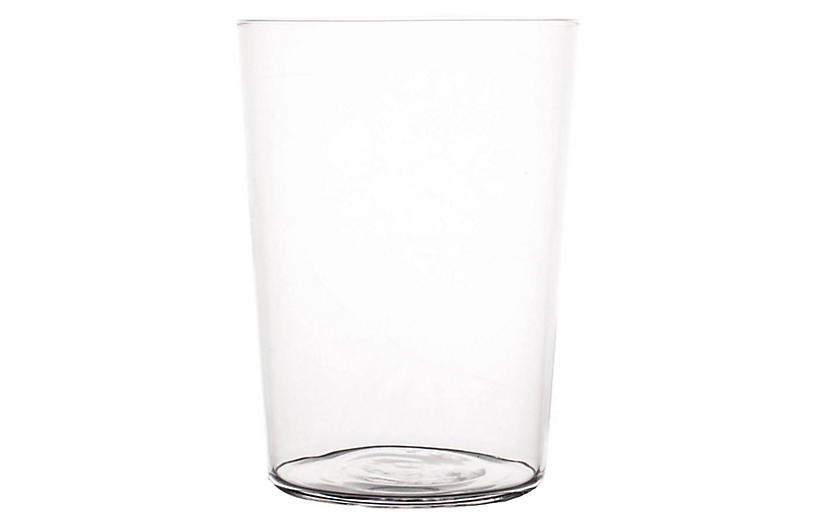 S/4 Spanish Beer Glasses, Clear