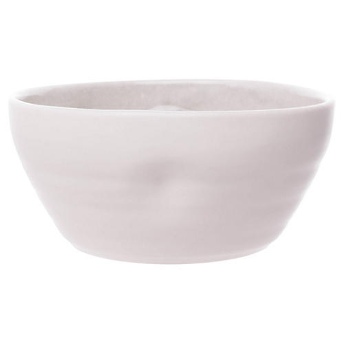 S/4 Pinch Cereal Bowls, Gray