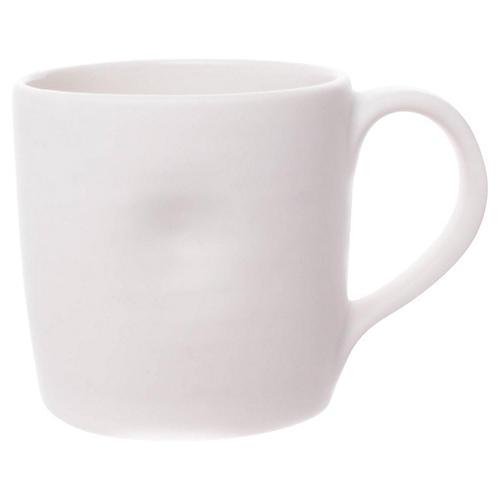 S/4 Pinch Mugs, White