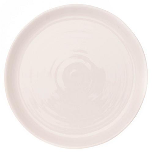 S/4 Pinch Salad Plates, White