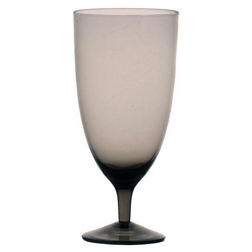 S/4 Amwell Water Glasses, Smoke