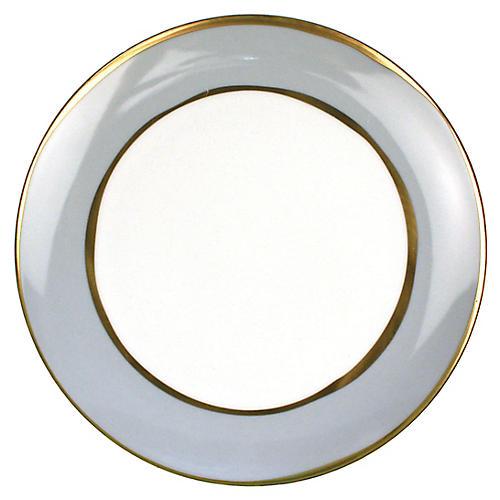 S/4 La Vienne Salad Plates, Blue