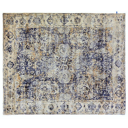 Janney Hand-Knotted Rug, Blue