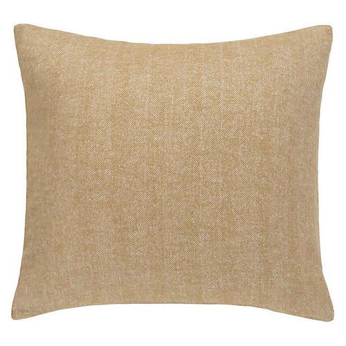 Herringbone 20x20 Pillow, Caramel