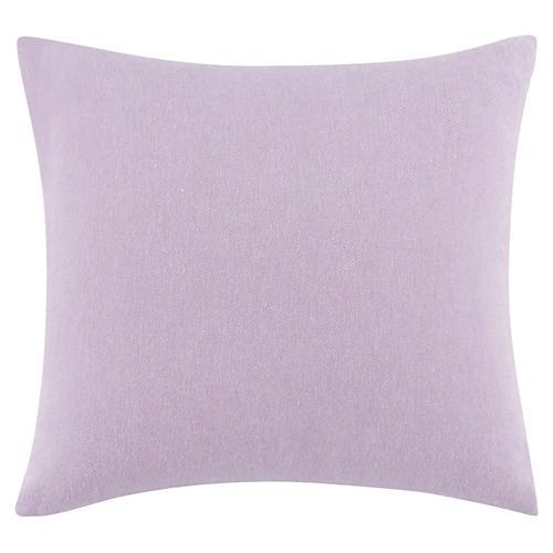 Herringbone Pillow, Lilac