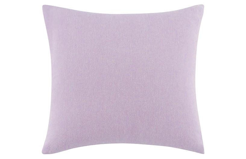 Herringbone Pillow, Purple