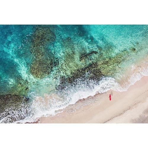 Gray Malin, St. Barths Red Surfboard