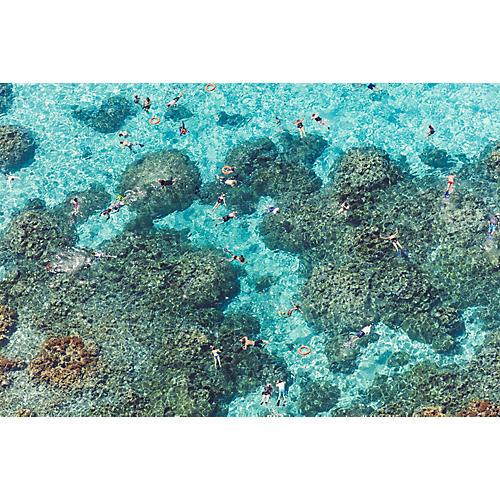 Gray Malin, The Reef, Bora Bora
