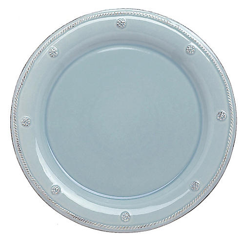 Berry & Thread Dinner Plate, Ice Blue