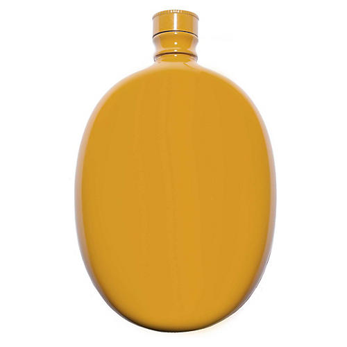 Smith Oval Flask, Yellow