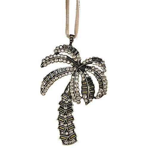 Palm Tree Ornament, Topaz