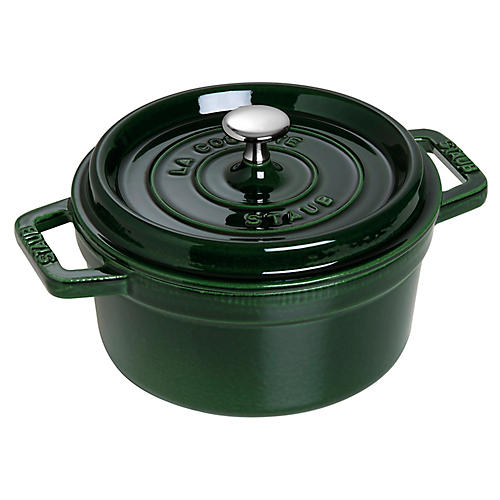 Round Cocotte, Basil