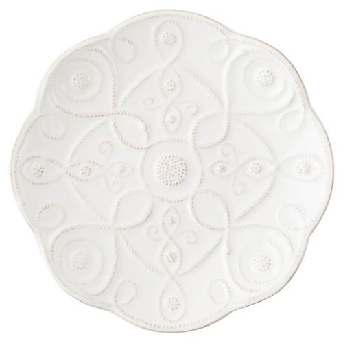 Landriana Dessert Plate, White