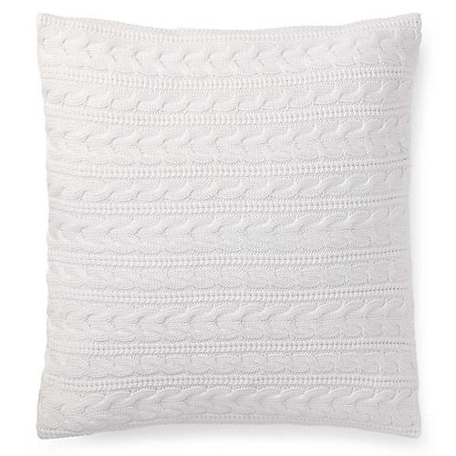 Davies 20x20 Decorative Pillow, White