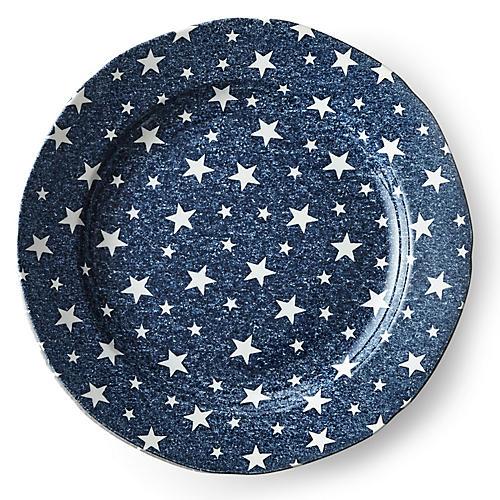 Midnight Sky Salad Plate