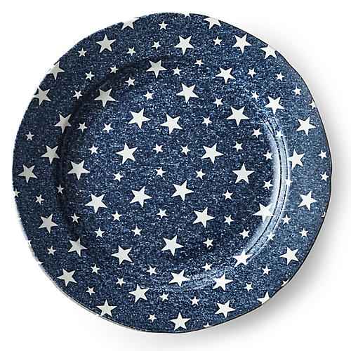 Midnight Sky Salad Plate