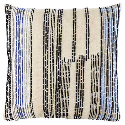 Ovaa 22x22 Pillow, Cream
