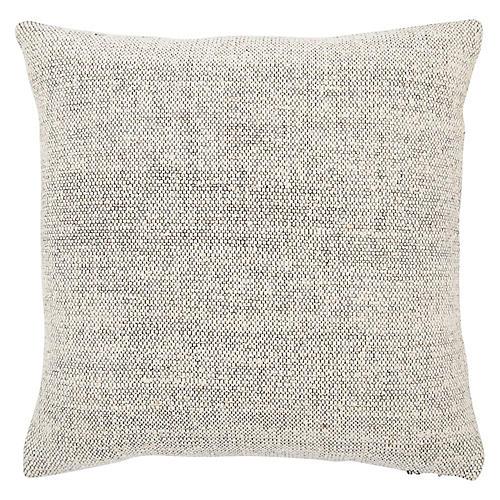 Sui 22x22 Pillow, Cream/Gray