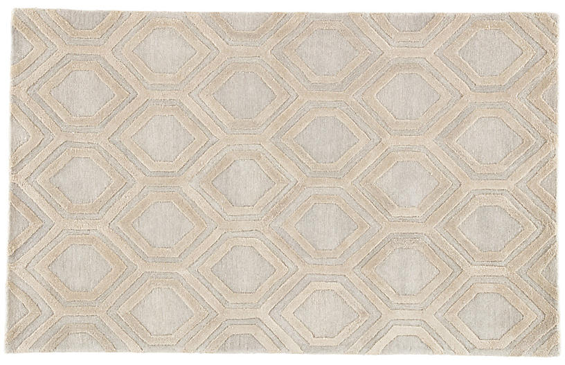 Foxwood Rug, Beige/Cream