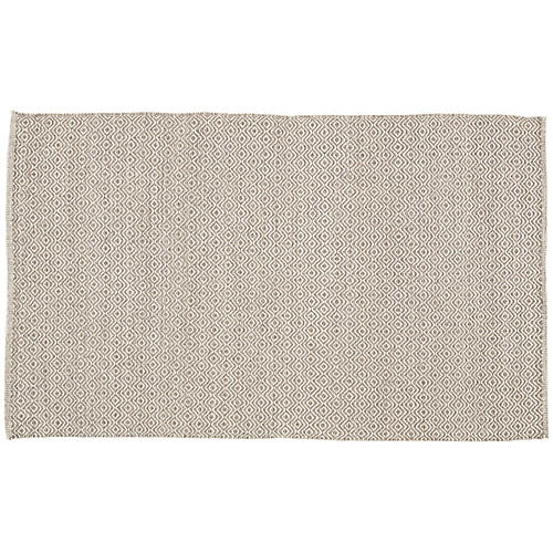 Lanza Rug, Taupe/White