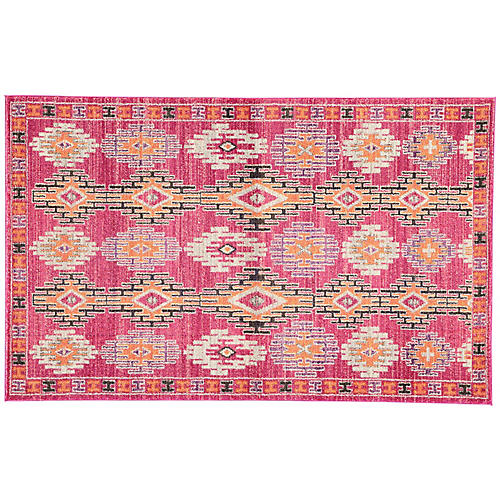 Tomo Rug, Pink/Purple