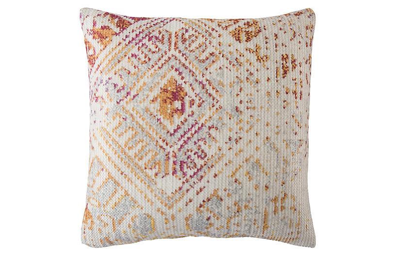Siva 22x22 Outdoor Pillow, Pink